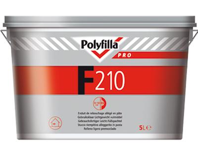 Polyfilla Pro F210 lichtgewicht vulmiddel 2,5L