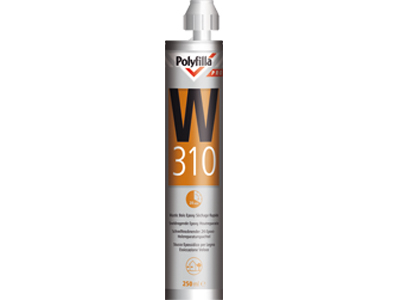 Polyfilla Pro W310 sneldr.epoxy houtrep.300ml