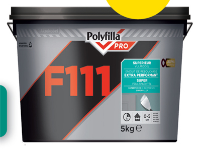 Polyfilla Pro F111 Vulmiddel 5kg 3 voor 2 VLP