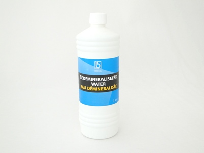 Gedemineraliseerd water 1 ltr.