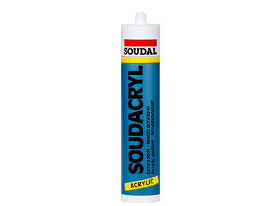 Soudal Soudacryl 290 ml wit #15