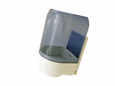 Papier dispenser transparant 8214