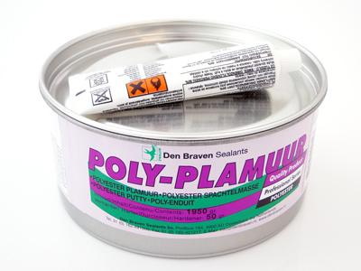 Polyplamuur met verharder 2 kg