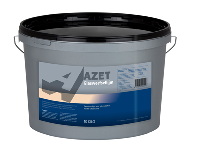 Azet-glasweefsellijm 10kg transp.