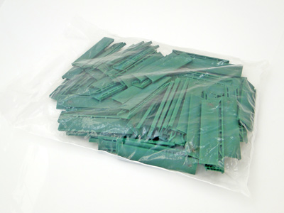 Steunblokjes 22x5x100 groen per 100 st.