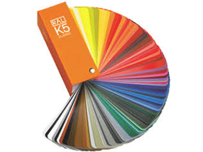 Ral K5 kleurenwaaier zijdemat